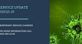 Service Update – COVID-19