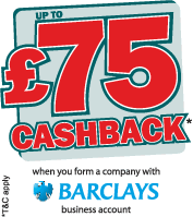 £75 cashback with a Barclays bank account